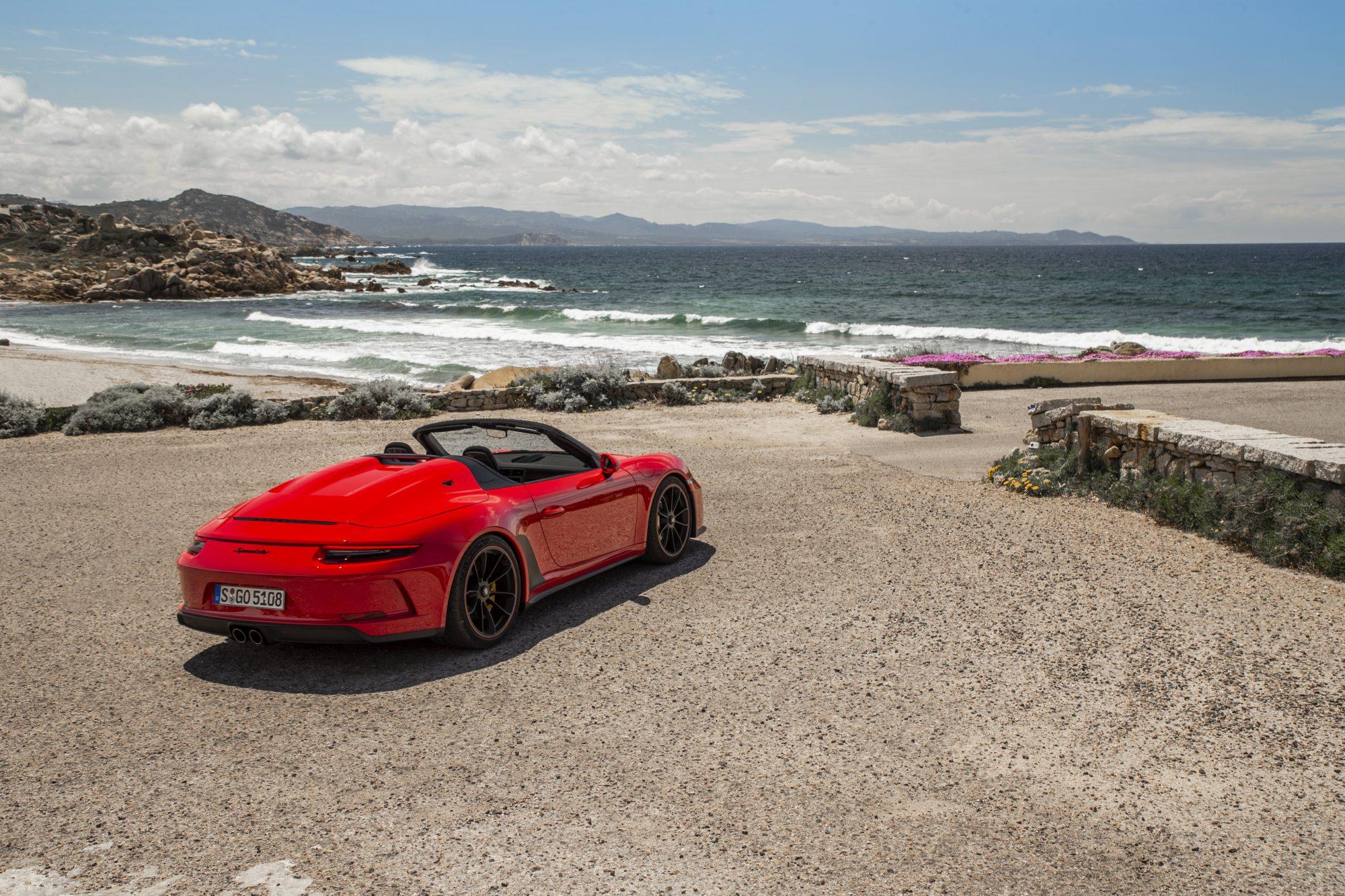 Porsche 911 Speedster, luxury, luxury car, sport car, Porsche, Sardinia, Italy, speed, GT3, road, trip, holiday, Carrera 4 Cabriolet, ceramic brakes, cabrio, manually-operated roof,
