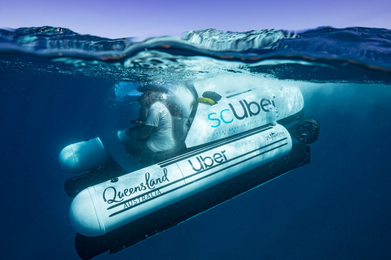 scuber, rideshare, submarine experience, Great Barrier Reef, travel, top vacation, holiday, extreme, diving, scuba, destination, holiday, sea, coral, ocean, fish, uber, queensland, Australia, giant clam, whales, turtles, manta rays, clown fish, sharks, potato cod, Maori wrasse